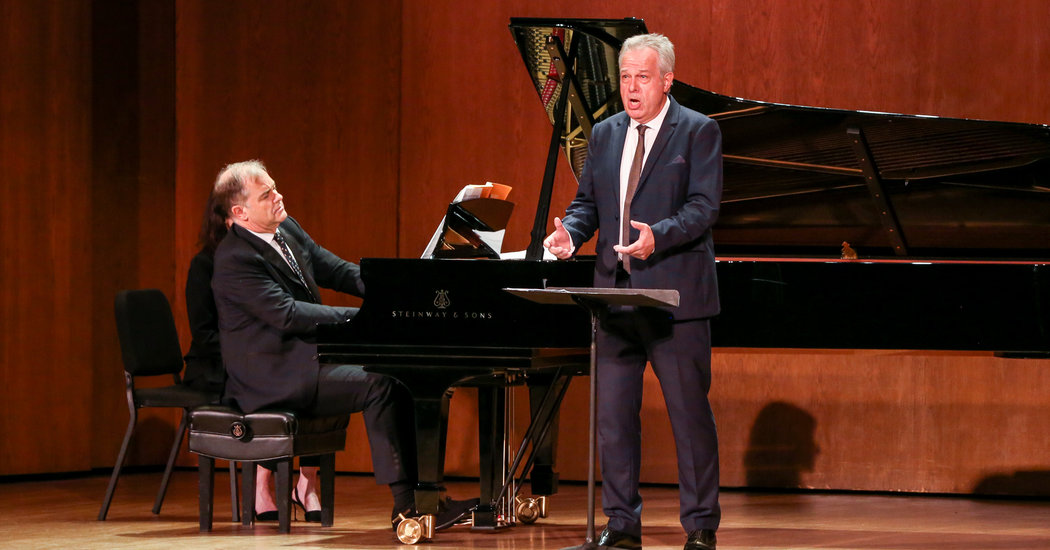 A Brief History of the Song Cycle in Two Recitals