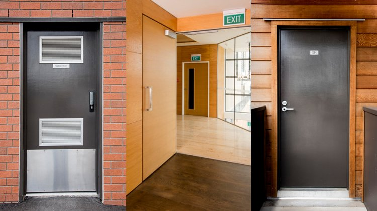 Save time with complete fire door settings